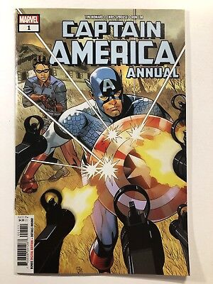 Captain America Annual #1 (Marvel 2018) Chris Sprouse Cover