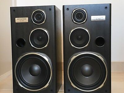 Kenwood S-7M vintage stereo speakers Brand New condition