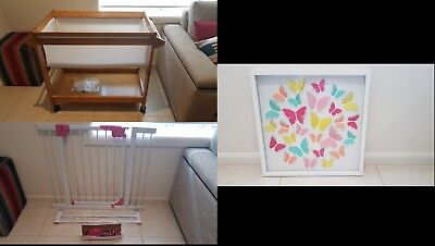 BABY BUNDLE (includes bassinette and baby gate) - IN GREAT CONDITION