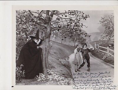 """Margaret Hamilton Wizard of Oz Wicked Witch of the West Signed 8"""" x 10"""" Photo"""