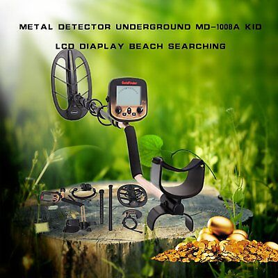 MD 3030 WATERPROOF METAL Detector Sensitive Search Treasure