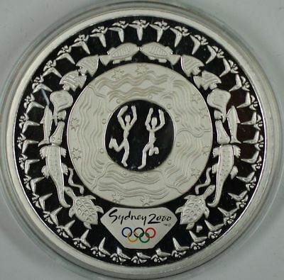 $5 Festival of Dreaming .999 Silver Proof 1oz Coin- Sydney 2000 Olympics