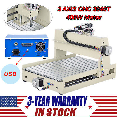 4 Axis Engraver Usb Cnc3040T Router Engraving Drilling Milling Machine 3D Cutter