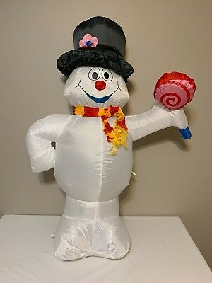 Gemmy Frosty The Snowman 4 ft Inflatable 2011