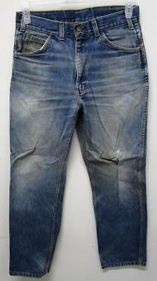 Vintage Key Saddle King Farm Work Denim Jeans Talon Zipper 29X28