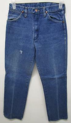 Vintage Wrangler Farm Work Denim Jeans 28X32