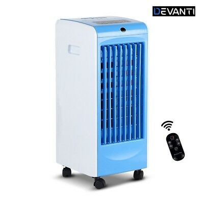 Devanti Evaporative Air Cooler w/Remote Control Water Cool Fan Portable Timer