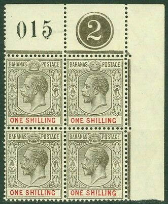 EDW1949SELL : BAHAMAS 1912 Scott #54 Beautiful P/B with Control #. VF, Mint NH.