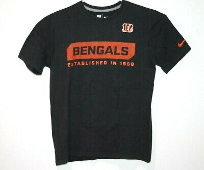 Nike Cincinnati Bengals NFL Team Shirt Size Men's Medium