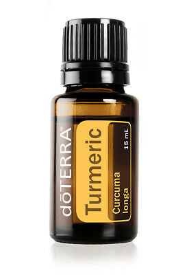 doTERRA Turmeric Essential Oil 15ml * Sealed * Boosts Immunity Against Diseases