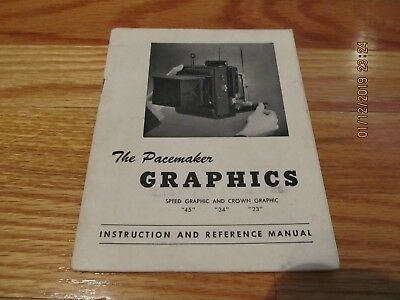 1948 THE PACEMAKER- GRAPHICS INSTRUCTION & REFERENCE MANUAL Photography SC