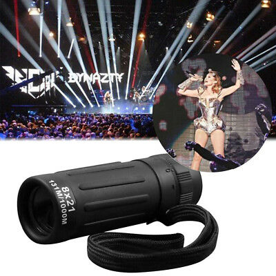 Super High Power8x21 Portable HD OPTICS BAK4 Night Vision Monocular Telescope YT