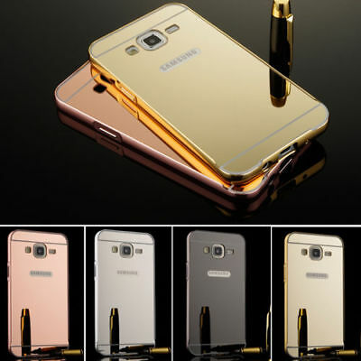 ShockProof Luxury Mirror Aluminum Metal Bumper Case for Samsung Galaxy S7 (Edge)