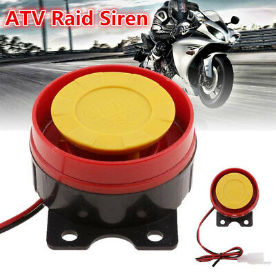 Universal 12V Motorcycle Scooter ATV Raid Air Siren Small Electric Horn Alarm KY