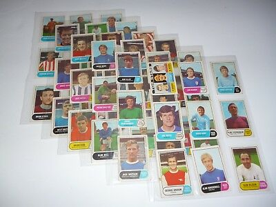 A&BC  Gum  Footballers Green 2nd Series 65-117   Trading Card Set inc Checklist