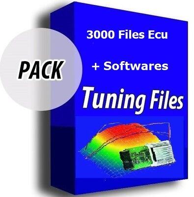 Pack software tuning files Winols Swiftec Ecm kess ktag cmd fgtech mpps genius