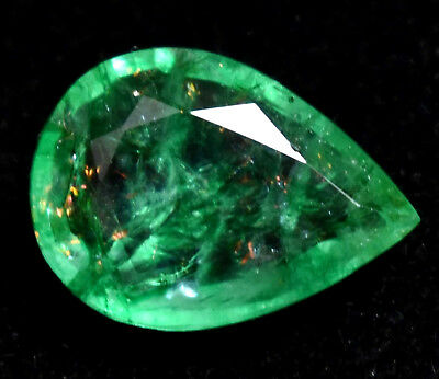 6.40 Ct Natural Green Colombia Emerald AGSL Certified Loose Gem Stone From Muzo