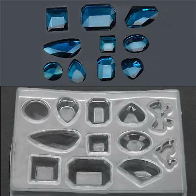 DIY Silicone Mould Craft Mold Set for Resin Necklace Jewelry Pendant Making Tool
