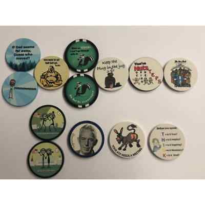 AA Chips Alcoholics Anonymous Recovery Chip 10 Chip-Pack AA Slogans