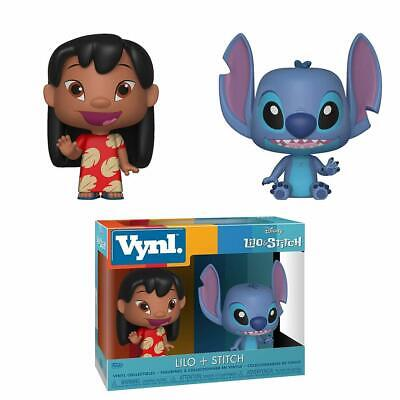 Funko VYNL Lilo And Stitch Figure Set with Pop Protective Case