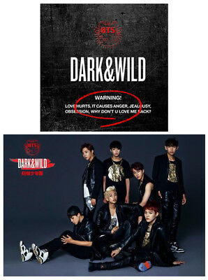 1st Album BANGTAN BOYS [Dark and Wild] Vol.1 BTS CD+Booklet+Photocard+Store Gift