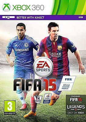 FIFA 15 (2015) Xbox 360 Game for Microsoft Xbox 360 PAL Brand New FACTORY SEALED