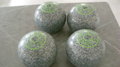 Greenmaster Mastertouch lawn bowls size 4 in perfect condition