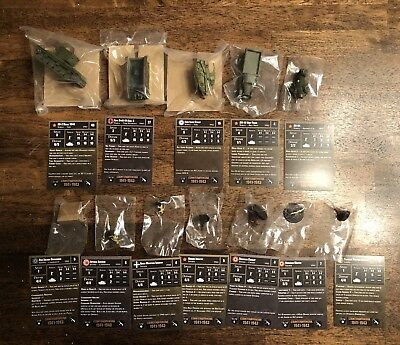 axis and allies miniatures lot