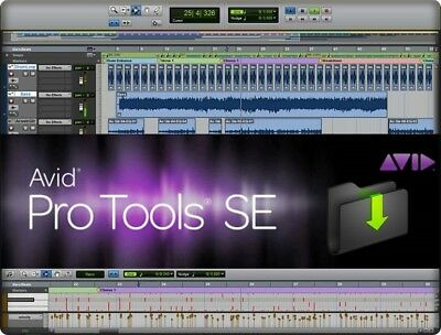 AVID, Pro Tools SE | Software DAW - Audio Loops/Demo Songs, M-Audio interfaces