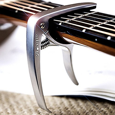 Adagio PRO DELUXE CAPO Suitable For Acoustic & Electric Guitars With Quick -