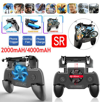 PUBG Cooling Fan Game Controller Gamepad Mobile Phone Joystick for IOS Android