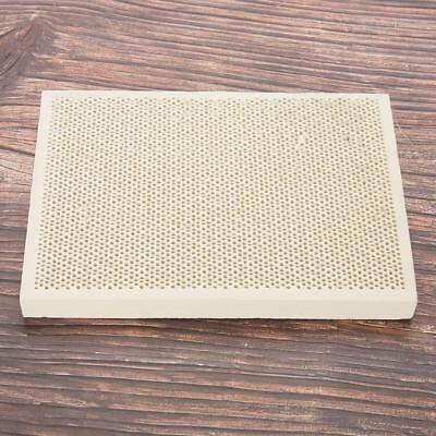 Ceramic Honeycomb Soldering Mat Board Sheet Block Jewellery Making Heating Tool