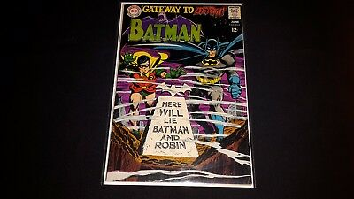 Batman #202 - DC Comics - June 1968 - 1st Print