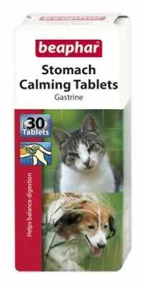 Beaphar Stomach Calming Dogs Cats Tablets Gastrine Digestion SAMEDAY DISPATCH