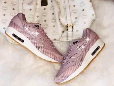 SNEAKERS DONNA NIKE WMNS AIR MAX 1 319986.118  SHOES WOMAN LEATHER Viola