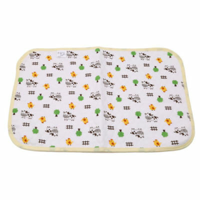 Reusable Waterproof Mat Baby Cotton Diaphragm Diaper Table Changing Pad Mat