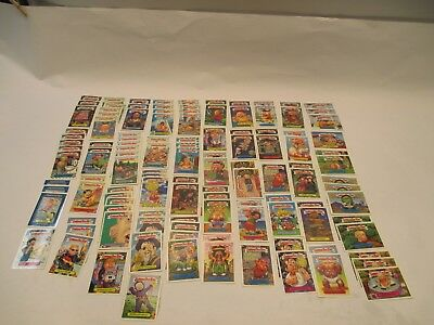 Topps Lot (117) Count Garbage Pail Kids Red Letter Cards Near Mint Condition