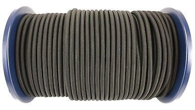 8mm Black Elastic Bungee Rope Shock Cord Tie Down Extra Strong Various Length