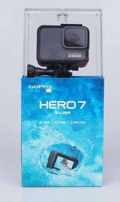 Gopro Hero 7 Silver 4K 30 Ultra Hd Action Camera - Brand New - Sealed/mint