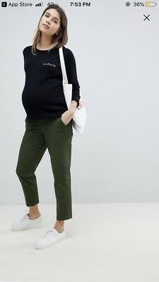 Maternity Chinos Trousers Size 12