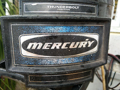 40Hp Mercury Outboard Motor - Very Good Working Condition