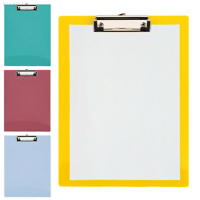 8E23 File Folder Practical Convenient Stationery Boards Clip Writing PP