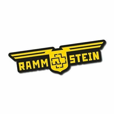 Rammstein Sticker / Decal - Vinyl Car Window Laptop