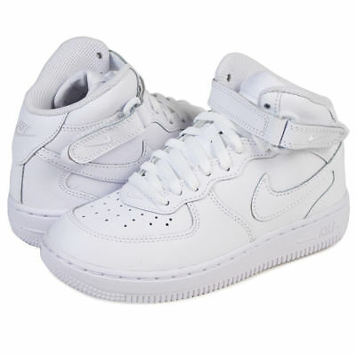 outlet store 4b8ce 08596 Scarpe Bambini Nike Air Force 1 Mid (PS) 314196-113 Bianco Sneakers Alta