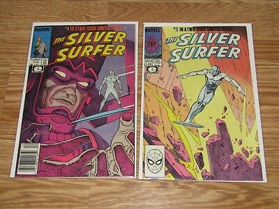 The Silver Surfer 1 2 Epic Marvel 88-89 Stan Lee Jean Moebius I2