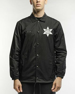 8a2c10418fe78e NIKE AIR JORDAN PINNACLE 6 SECURITY COACHES JACKET LARGE  835951 010  Black