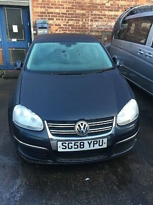 VW Jetta 2008 1.4l Petrol Engine and Automatic Gearbox for spares / parts blue