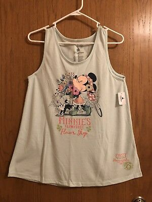 WDW Epcot Flower & Garden Festival 2018 AP Minnie's Farmhouse Shirt Size L