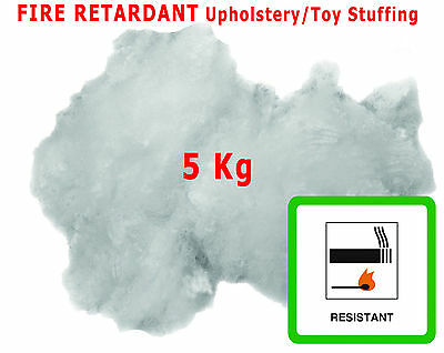 5KG Upholstery Stuffing For Toy Cushions Fibre Polyester All Crafts Hollowfibre