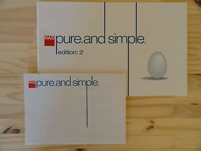 Vintage 90' - Catalogue NAD Pure and simple Edition 2 non daté (1995/96/97)